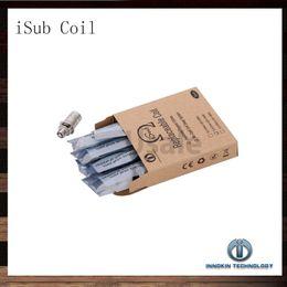 Substituição de ohm on-line-Bobina da bobina de Innohin iTaste iSub Sub ohm bobinas da substituição de 0.2ohm 0.5ohm 2.0ohm para os tanques do iSub iSub 100% originais