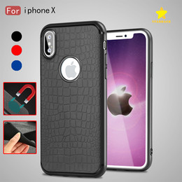 Wholesale Iphone Crocodile Leather - Crocodile Case Cover Phone Shell Soft TPU Back Cover Case Leather Case for iPhone 8 Plus iPhone X Samsung S8 Plus