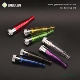 GS H2 Lampadina atomizzatore eGo Clearomizer GS HS per eGo t Batteria E sigarette E Cig Clear Cartomizer DHL spedizione gratuita da originale serbatoio mini serbatoio fornitori