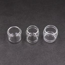 Wholesale pyrex color glass tube - TFV8 TFV12 Prince Tank 8ml Extended Pyrex Glass Tubes Fat Boy Clear Color Glass Tube Replacement Sleeve E Cigarette DHL Free