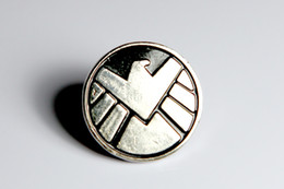 Wholesale Pin Sign - The Avengers Agents of Shield s.h.i.e.l.d. Sign Lape Metal pin badge Brooch