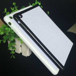 Wholesale Aluminium Ipad Cover - Rubber TPU+PC DIY sublimation case with aluminium metal sheet Glue for ipad mini 1 2 3 10PCS LOT
