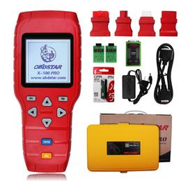 Wholesale obd2 scanner programmer - Auto Key Programmer Immobilizer EEPROM Adapter Odometer Correction OBD2 Code Reader Automotive Scanner Tool OBDSTAR X100 PRO
