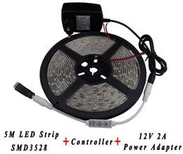 Wholesale Car Lights Leds - LED strip Set 5050 5630 3528 DC 12V waterproof flexible light DIY 60 leds m Tape Home Decoration Lamps Car light