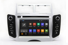 Wholesale Car Dvd Tv Gps Bluetooth - Android 7.1 Car DVD Player GPS Navigation for Toyota Yaris 2005 2006 2007 2008 2009 2010 2011 with Radio BT USB AUX