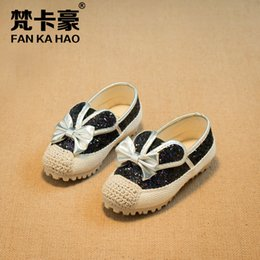 Wholesale Super Cute Bunny - Wholesale-Children's shoes in the autumn of 2015 new products han edition shiny pink bunny ears super cute doug shoes of the girls