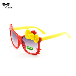 Wholesale Cat Childrens - Wholesale-Fast shipping New Fashion baby Sunglasses Childrens cat glasses Baby Eyeglasses Outdoor Cool baby oculos de sol feminino