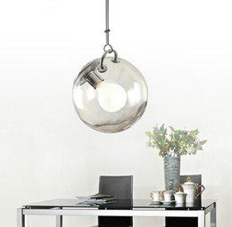 Wholesale Italian Modern Lighting - Creative Italian Bubble Pendent Lamp Glass Pendent Lamp Modern Simple Style Personality Bar Loft Bubble Pendent Lamp