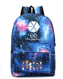 Wholesale Exo Bags - New exo bag college wind backpack men and women school bags travel bag Star cartoon villain backpack