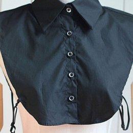 Wholesale Blouse Necklace - Wholesale- Women Detachable Lapel Shirts Blouses Fake False Collar Choker Necklace Apparel Accessories
