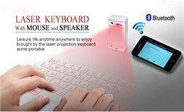 Wholesale Tablets Sale Prices - Wholesale-Hot sales! Wireless Virtual Laser Keyboard and Bluetooth mouse for Smart Phone Tablet PC Laptop Xiaomi 4 Wholesale Price