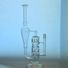 Wholesale Water Wells - New Fab Egg Recycler water pipes with tyre perc and well crafted sturdy glass bongs 14.5mm