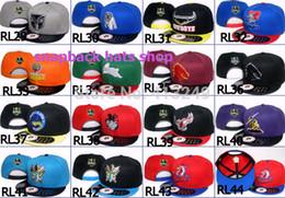 Wholesale Nrl Snapback Wholesale - Wholesale-2015 New NRL AFL Snapback Caps Sport baseball hats Man snapback hats 20pcs lot Free shipping