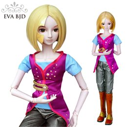 Wholesale 24 Inch Figure - Iron Prince 1 3 EVA BJD Doll 60cm 24 inch Man 19 jointed dolls SD Dollfiee For child toy DA001-46