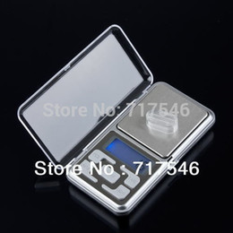Wholesale Portable Personal Scale - Free by dhl fedex 500g x 0.1g Mini Digital Pocket Jewelry Diamond Portable LCD Electronic Weight Weighing Scale with retail box