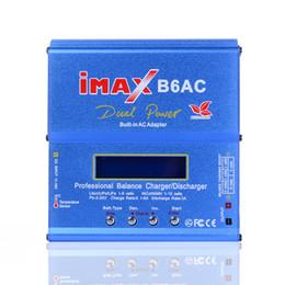chargeurs de batterie modèle Promotion SKYRC iMAX B6AC V2 6A chargeur de balance de batterie Lipo LCD affichage déchargeur pour RC modèle batterie recharge mode Re-pic Hot + NB