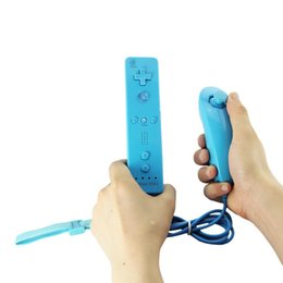 Wholesale Nunchuk Remote Controller - New Remote Game Handle controller 5 Colors 100% Brand Nunchuk Nunchuck Game Controller for Nintendo Wii