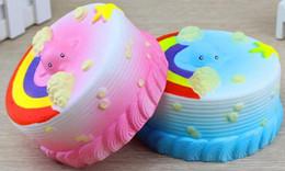 Wholesale Ocean Kids - Jumbo 12CM Squishy Bread with fragrant Ocean Cake Kawaii Cute Charm Slow Rising Bread Bun Kid Toy Gift Fun