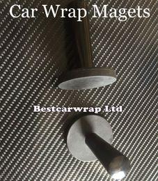 Carbon gráficos online-2 unids Magnet Holder / 4 pcs 3M Squeegee y 1 pcs cinta sin cuchilla para el coche Wrap Styling Vehicel Graphics auto accesorios