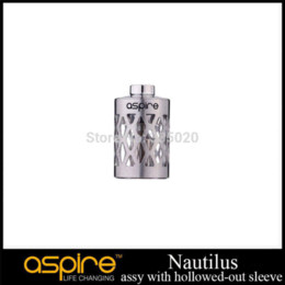 Wholesale Industry Tube - Original Aspire Nautilus Assy with Hollowed-out Sleeve Stainless Replacement Tank Steel Tube for Nautilus Clearomizer steel tube industry