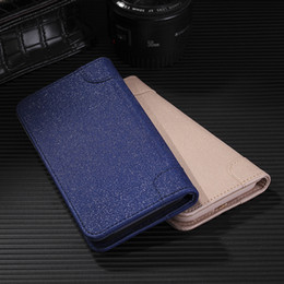 Wholesale Wholesale Leather Books - Wallet leather flip Magnetic case for iPhone X 5 6 7 8 Plus Samsung Galaxy S8 Plus PU book case with Stand