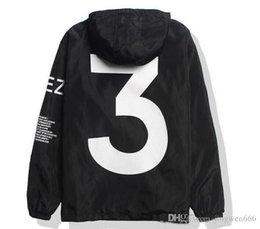 Wholesale Kanye West Yeezus - 2017 Hip Hop Jacket Men Virgil Yeezus Windbreaker Y- 3 Yeezus Tour Kanye West Season MA-1 pilot Jacket Free delivery
