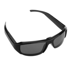 Wholesale Spy Camera Lens Glasses - FULL HD 1080P hidden camera Mini DVR spy sunglasses camera Audio Video Recorder Bolon Style Sunglass Black Gold Lens Glass Camera 2pcs lot