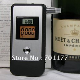 Wholesale Tube Backlight Lcd - Wholesale-3 digit LCD display with orange color backlight breath alcohol tester , Patented hidden exhale tube alcohol tester