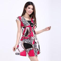 Wholesale Folk Skirt - 14ZQ large size women folk style chain thin summer skirt wholesale silk dress