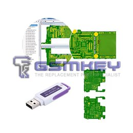 Wholesale Unlocked Mobile Dongle - Zillion x Work ZXW DONGLE Repair mobile phone circuit board Repair mobile phone PCB the circuit diagram