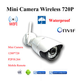 Wholesale Ip Camera Capture - 2015 Sale ip camera wireless 720p wifi security system outdoor video capture surveillance hd onvif cctv cameras Infrared