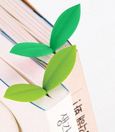 Wholesale Read Bookmarks - 4pcs Set Fred & Friends SPROUT Bookmarks Green Page Markers School Study Reading Great Christmas Birthday New Year School Day Gifts