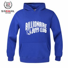 Wholesale Boys Prints - Autumn Winter Brand Skateboard BILLIONAIRE BOYS CLUB Hoodies Men Fashion Sweatshirt Sport Suit Fleece Pullover Men