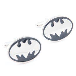 Wholesale Men S Metal Jewelry - New Statement Jewelry Men`s Wedding Party DC Superhero Batman Metal Cufflinks French Shirt Accessories Movie Jewelry