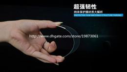 Argentina Protector de pantalla de cristal templado superior a prueba de explosiones de la película protectora ultrafina de 0.3mm 2.5D para Apple iPhone 6 6plus 5G Samsung S6 DHL Suministro