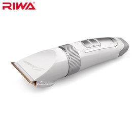 Wholesale Hair Trimmer For Child - Riwa Hair Clipper RE-730AK White Color Rechargeable Home Use Hair Trimmer For Adult and Children Chinese Plug
