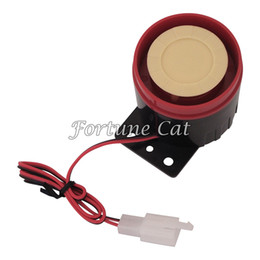 Wholesale Tone Horns Motorcycle - Quality 6 Six Tone Siren Horn For Motorcycle Bike Alarms DC12V 125DB Free Shipping