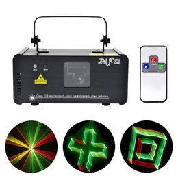 Wholesale Dj Laser Light 3d - New 3D Effect 8 CH DMX 512 Mini IR Remote 250mW RGY Laser DPSS Scanner Lights DJ Show LED Projector Stage Lighting TDM-RGY250