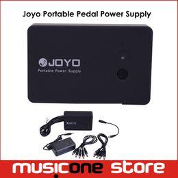 Wholesale Guitar Pedal Joyo - JOYO Black JMP-01 Rechargeable Portable Guitar Effect Pedal Power Supply Free shipping MU0070