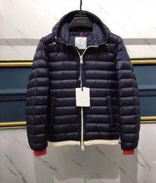 Wholesale Winter Jacket Pattern - Men 2017 Down Jacket Luxury Designers M12 Lightweight Duck Down Coats 90% Winter Warm Clothes Short Outwear