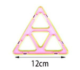 Wholesale Magic Triangles - single large triangle Variety Children's Building Blocks Magnetic Sheet Magnetic Wisdom Magic piece