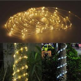 5M / 10M 50/100 LEDs Luz de tira de la secuencia del LED LED Luz de la secuencia del alambre de cobre impermeable Blanco fresco Blanco fresco para la fiesta de Navidad al aire libre desde fabricantes
