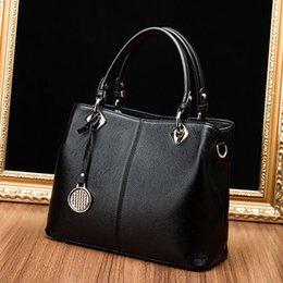 Wholesale Clutch Bags For Casual - Designer Casual Shoulder Bag Genuine Leather Handbag With Clutch Bag Composite Bag Tote Handbag For Women Fashion Free Shipping