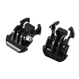 Wholesale Mini Camera Hero - F05743 Generic GO Pro Accessories Quick-Release Buckle Mount Base Tripod Adapter For Gopro Hero 1 2 3 3+ 4 Camera - 2 Pieces