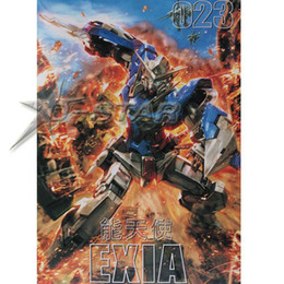 Wholesale Gundam Assembly Robots - Free Shipping am GG 023 GN-001 Fighter Exia 1 100 Scale Model Assembly Toy