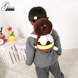 Wholesale Infant Head Protection - Gold Hands Baby Kids Head Protection Pillow Pad Toddler Head Back Care Resistance Pay Crawl Infant Safety Product Cushion