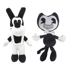 "Wholesale Toy Baby Games - Hot Sale 11"" 28cm Bendy and The Ink Machine Plush Doll Soft Stuffed Animals Dolls Figure for Baby Christmas Gift"