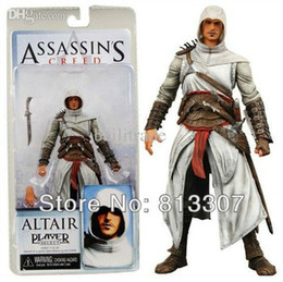 "Wholesale Altair Neca - Wholesale-Free Shipping 1pcs NECA Assassins Creed 7"" Assassin's Creed 1 Altair Player PVC Action Figure Toy"