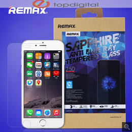 "Wholesale Film Blue Ray - NEW REMAX 0.2mm 9H 2.5D Anti Blue Ray Tempered Glass Screen Protector For iPhone 6 4.7"" Blue Ray Resistance Explosion Proof Film"