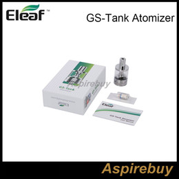 Wholesale Gs Head - 100% Authentic Ismoka Eleaf GS Tank Atomizer 3ml GS-Tank Atomizer with GS Air TC Head 0.15ohm fit with Eleaf istick TC 40W Box Mod